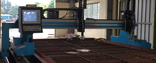 CNC plasma cutting machine export to Vietnam