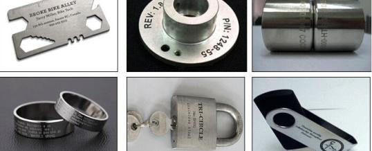 The wide application of laser ---Laser marking