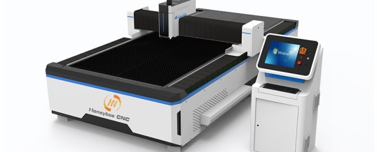 Laser cutting machine delivery